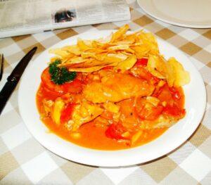 """Macanese """"African Chicken"""" – Galinha à Africana"""