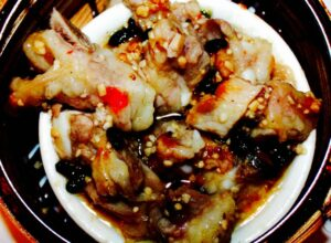 The Hirshon Cantonese Steamed Spare Ribs In Black Bean Sauce – 豉汁蒸排骨