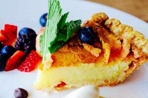 The Hirshon Buttermilk Pie
