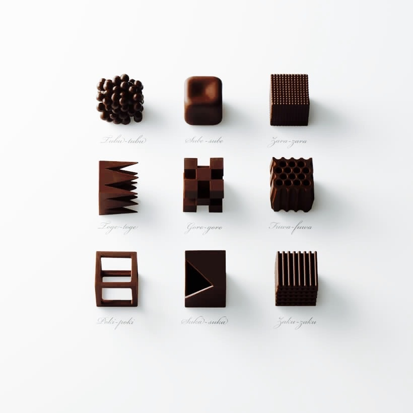 Texture in Chocolate!