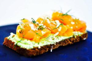 The Hirshon Swedish Gravlax with Mustard Sauce