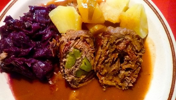 The Hirshon German Beef, Pickle and Bacon Rolls – Rouladen