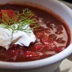 The Hirshon Ukrainian-style Borscht - борщ
