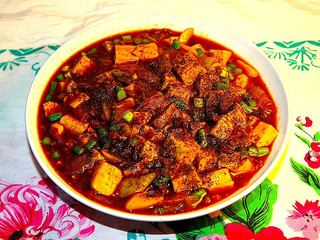 Ma Po Tofu Image Used Under Creative Commons License From Wikipedia