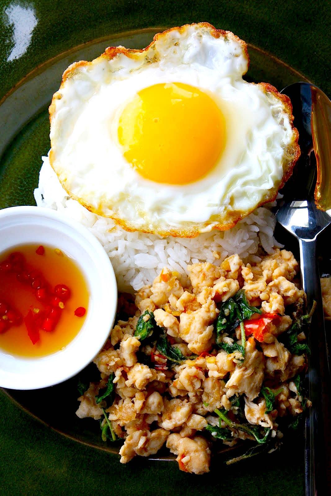 The Hirshon Thai Basil Pork – ผัดกะเพรา