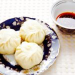 The Hirshon Kawa Manta (Uyghur Lamb and Pumpkin Dumplings) & Dipping Sauce - كاۋا مانتا