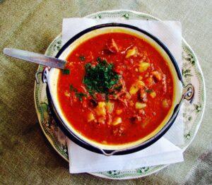 The Hirshon Hungarian Goulash – Gulyásleves