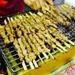 The Hirshon Xinjiang Lamb Kebabs - 羊肉串
