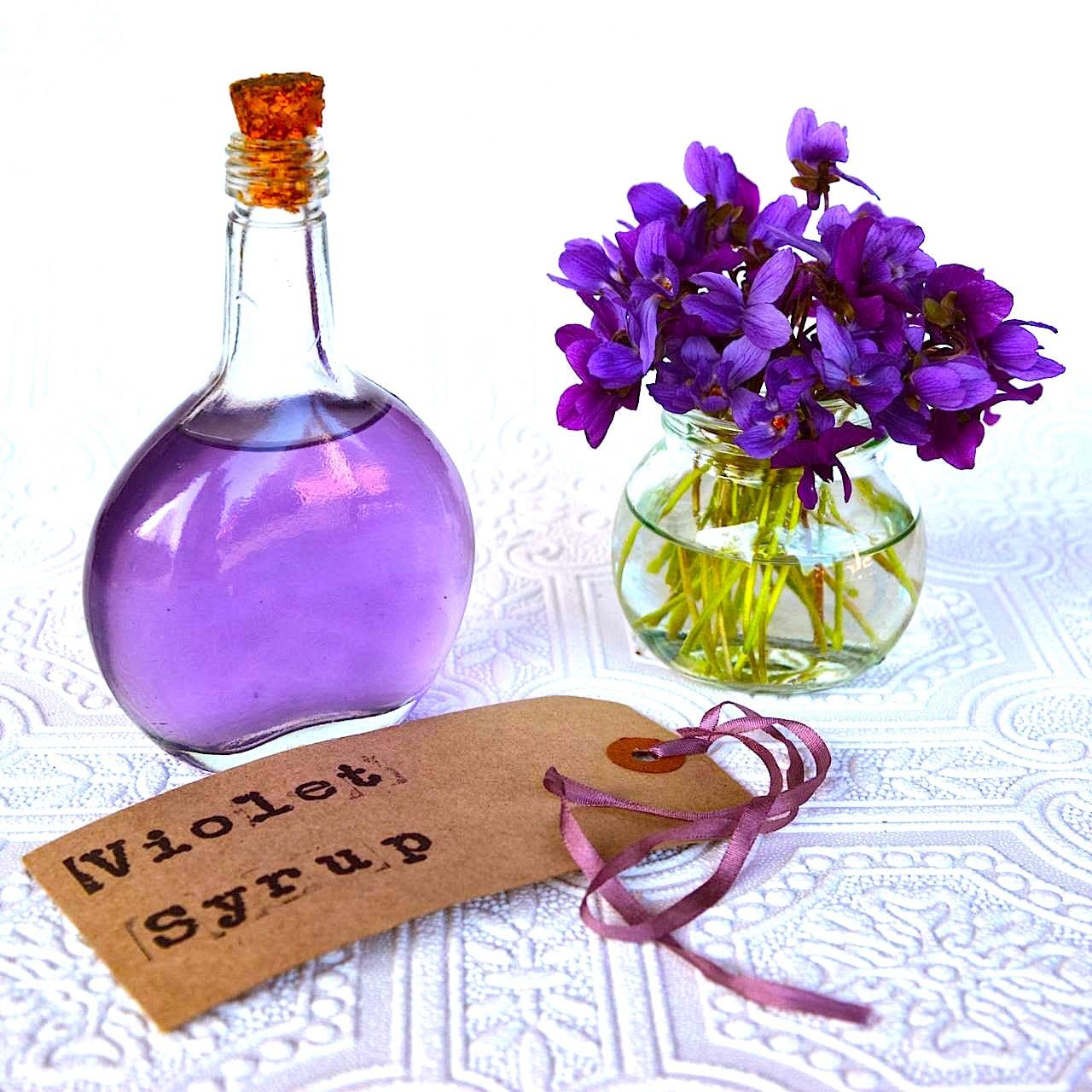 The Hirshon Violet Syrup