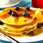 Bridget's Blueberry Pancakes