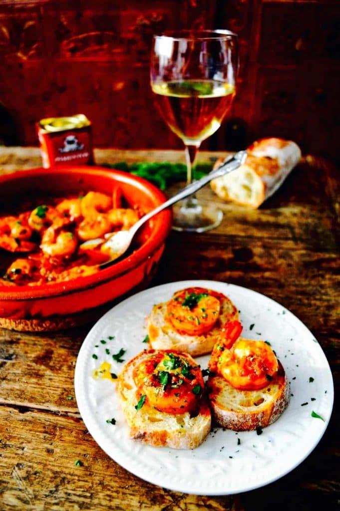 The Hirshon Spanish Shrimp in Garlic Sauce – Gambas al Ajillo