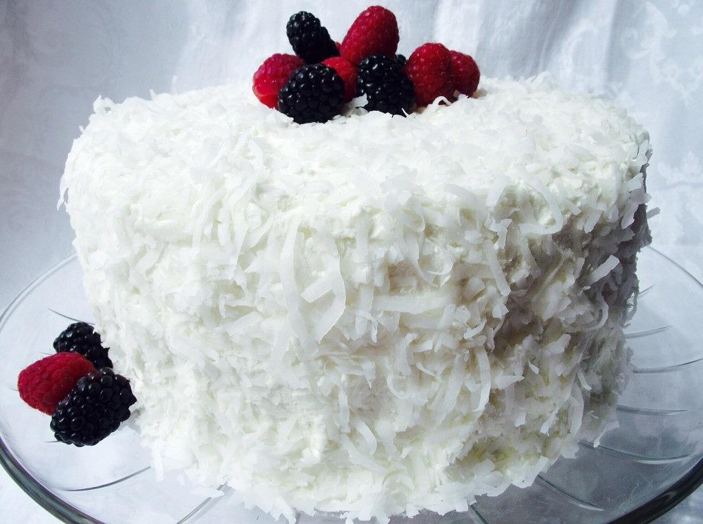 Alton Brown Coconut Cake