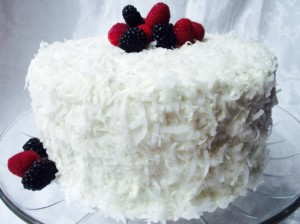 Alton Brown's Coconut Cake