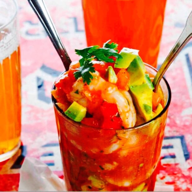 The Hirshon Mexican Shrimp Cocktail – Coctel de Camarones