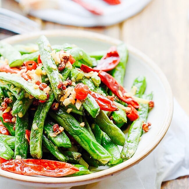 The Hirshon Sichuan Dry-Fried Green Beans - 干煸豆角