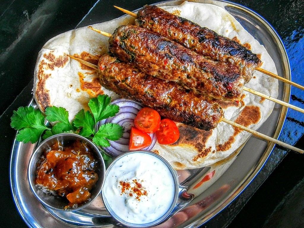 The Hirshon Lucknow Seekh Kebab