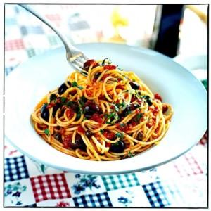 The Hirshon Neapolitan Spaghetti alla Puttanesca