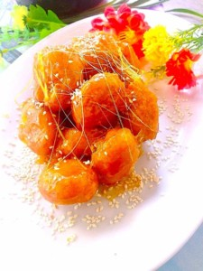 The Hirshon Shandong Candied Apple Fritters – 拔丝苹果