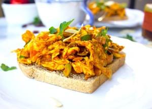 The Hirshon Coronation Chicken Sandwich