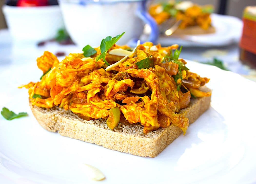 The Hirshon Coronation Chicken Sandwich