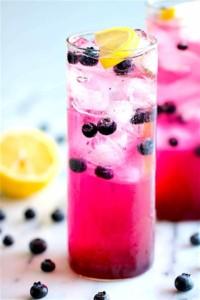 The Hirshon Blueberry Mint Lemonade