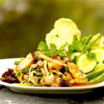 The Hirshon Thai Laab Het (Mushroom Salad) - ลาบเห็ด