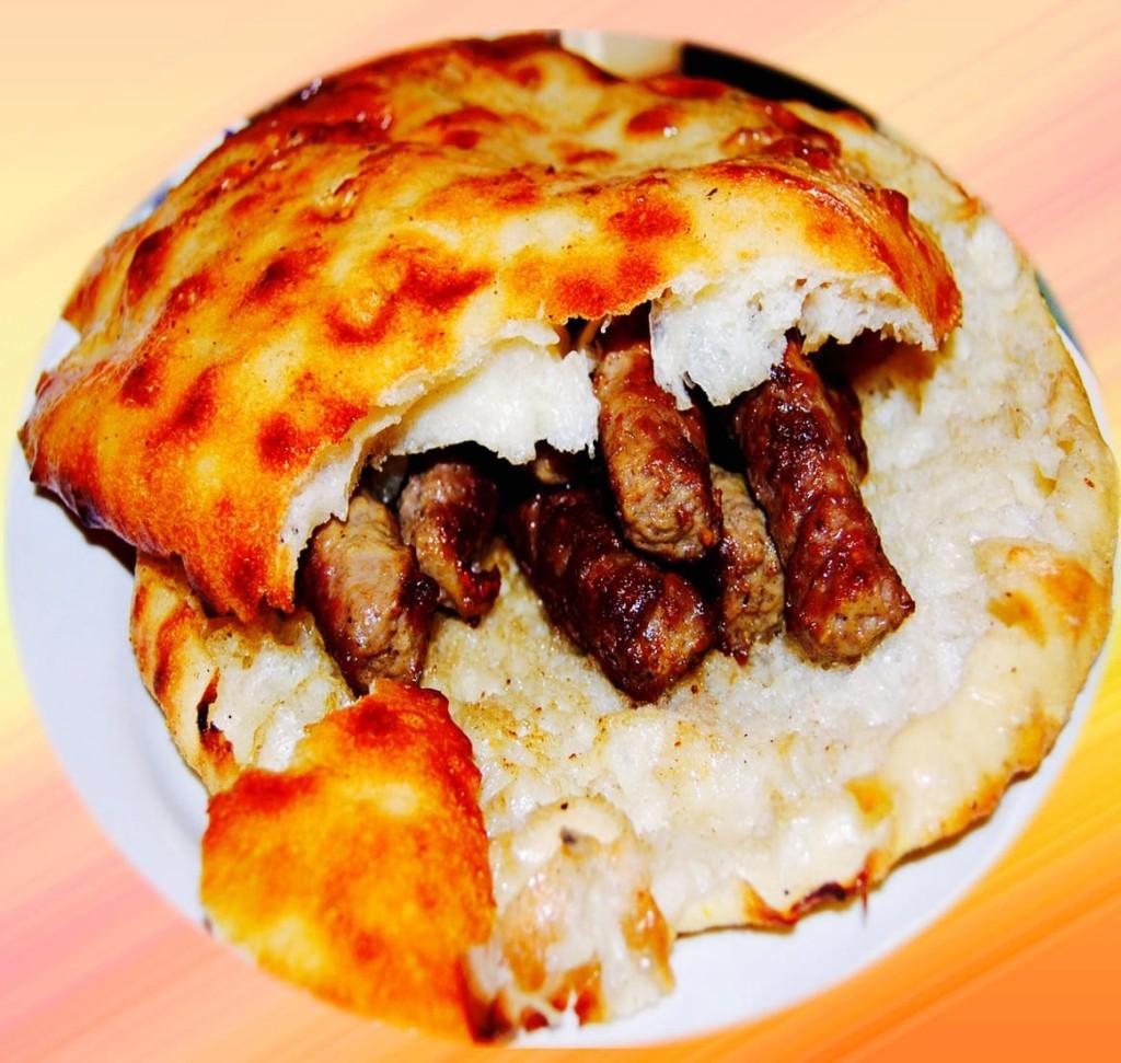 The Hirshon Serbian Sausage Sandwich - Ćevapi U Lepinji Sa Kajmakom