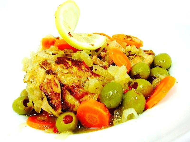 The Hirshon Senegalese Lemon Chicken - Poulet Yassa