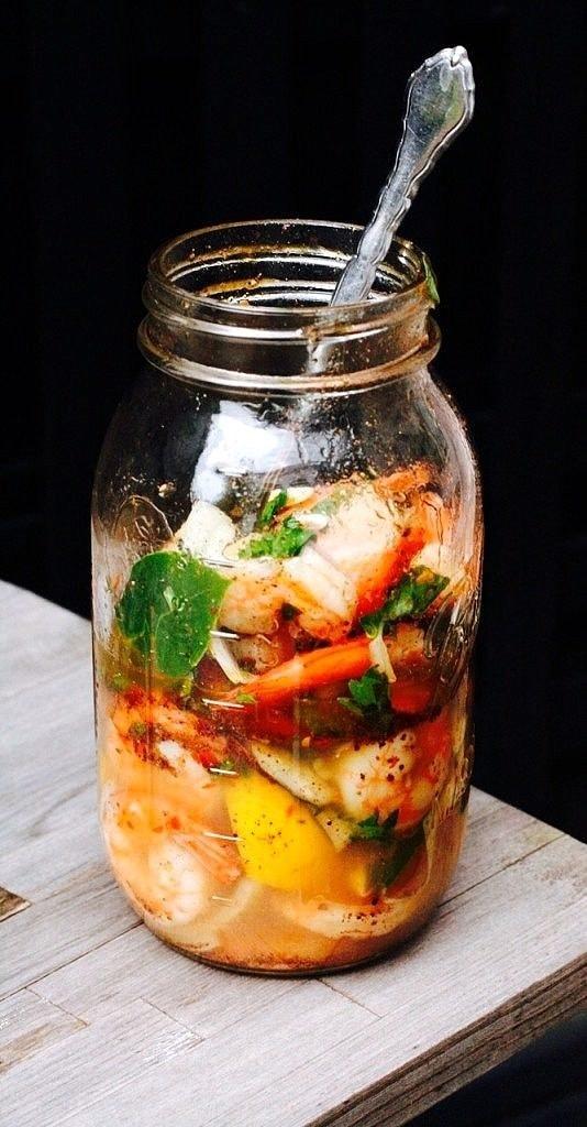 The Hirshon Southern Pickled Shrimp