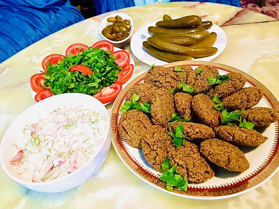 The Hirshon Falafel – طعمية and פָלָאפֶל