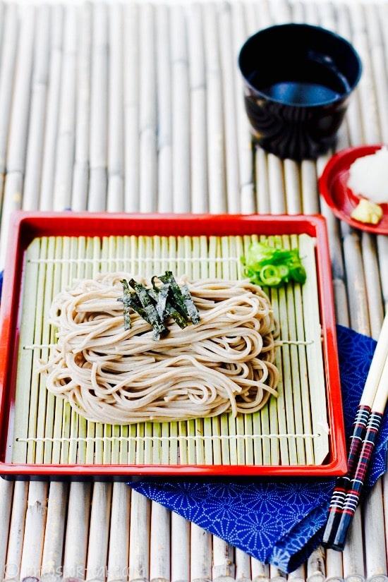 The Hirshon Japanese Zaru Soba With Dipping Sauce - ざるそば めんつゆ