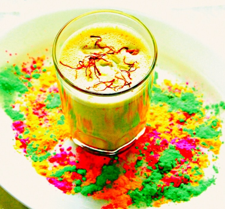 The Hirshon Bhang Thandai For The Holi Festival - भांग ठंडाई होली