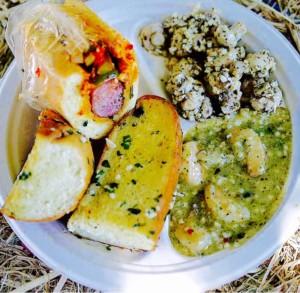 Gilroy Garlic Festival Scampi in Butter Sauce