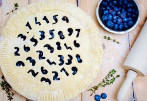 The Hirshon Blueberry Thyme Pie of Pi