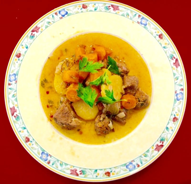 The Hirshon St Patrick's Day Irish stew – Stobhach Gaelach