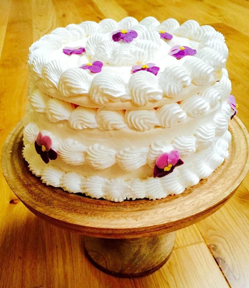 Spanish Meringue Cake