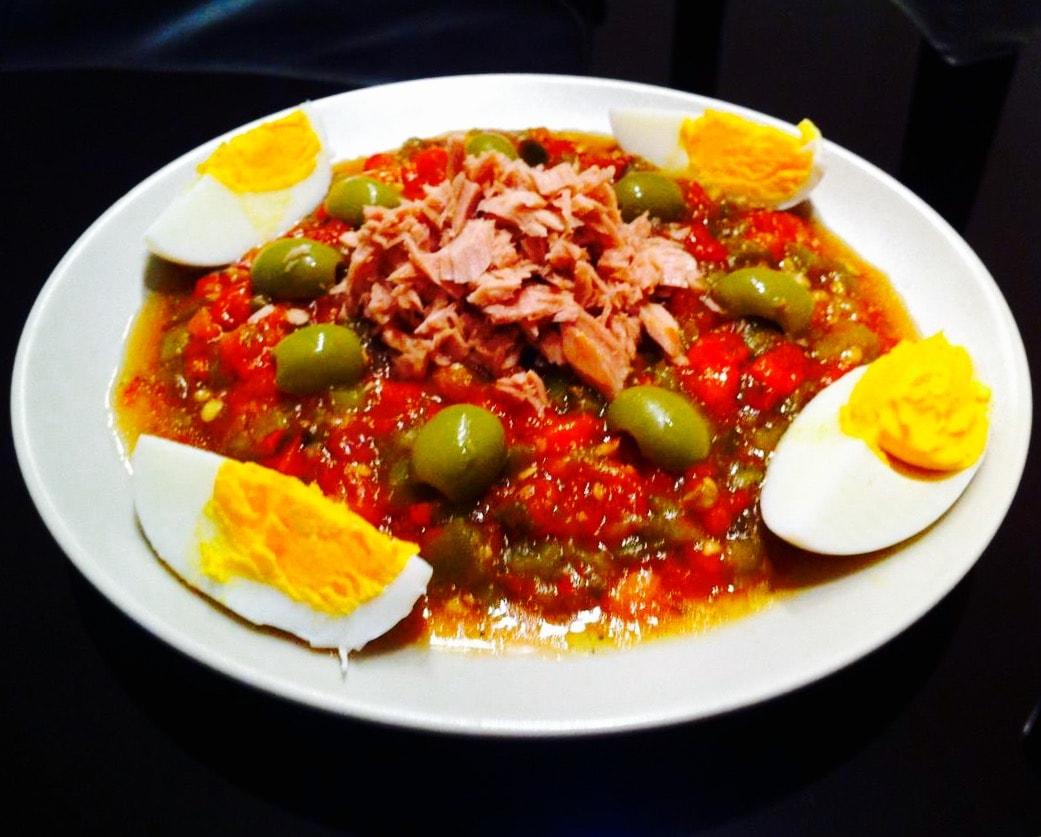 The Hirshon Tunisian Mechouia Salad - سلاطة مشويّة