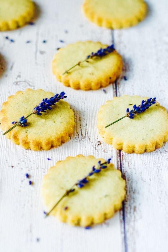 The Hirshon Scottish Lavender Shortbread