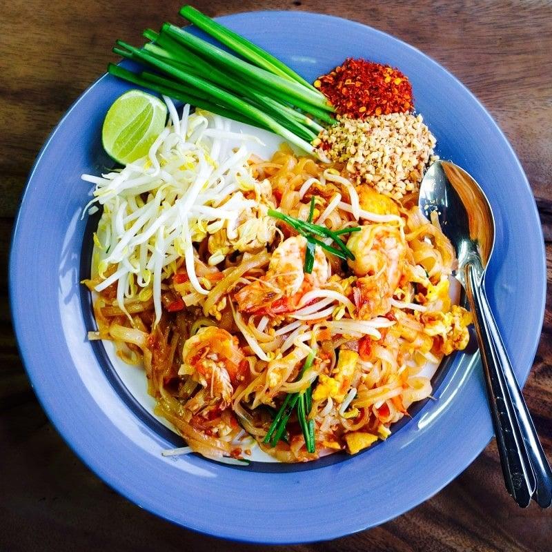 The Hirshon Pad Thai - ผัดไทยกุ้งสด