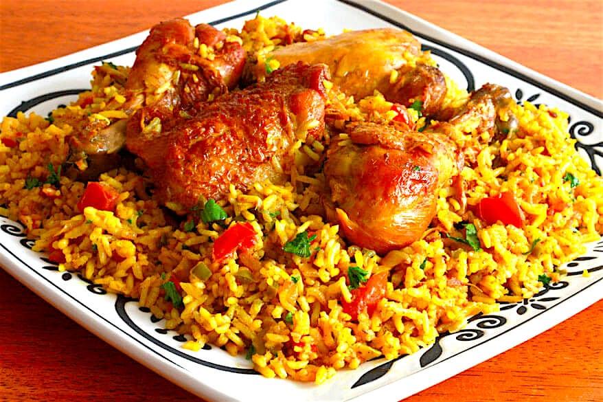 The Hirshon Bahraini Chicken Machboos - مكبوس البحرين