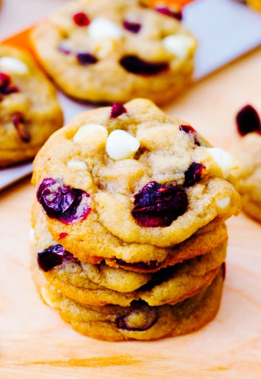 The Hirshon Spiced Cranberry Cheesecake Cookies
