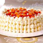 The Hirshon Finnish Cloudberry Cake - Lakkakakku