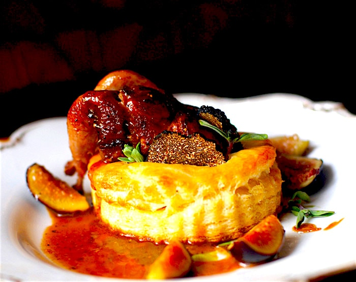 The Hirshon French Quail in Puff Pastry with Foie Gras and Truffles From Babette's Feast – Cailles en Sarcophage