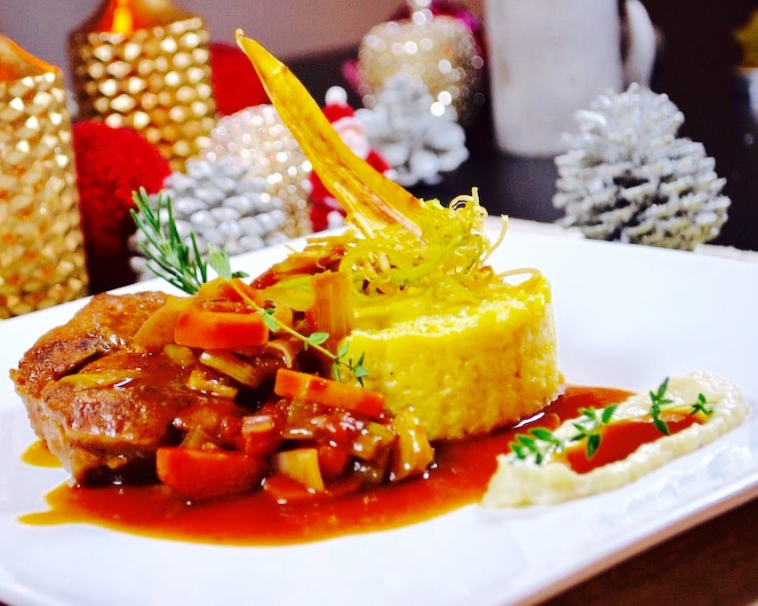 The Hirshon Bavarian Braised Veal Shank – Kalbshaxe auf Bayerische