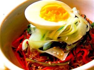 The Hirshon Korean Spicy Cold Noodles – 비빔냉면