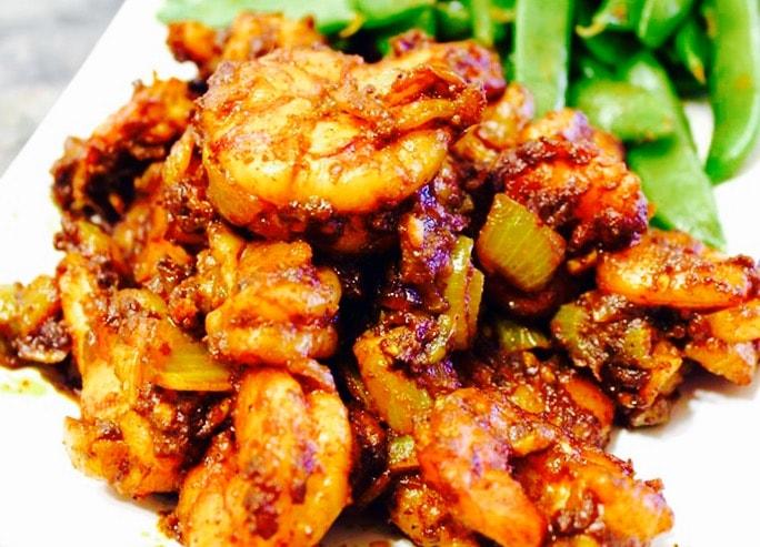 The Hirshon Emirati Shrimp Fried with Spices – الروبيان المقلي مع التوابل