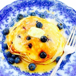 The Hirshon Russian Blueberry Pancakes – Черника Оладьи