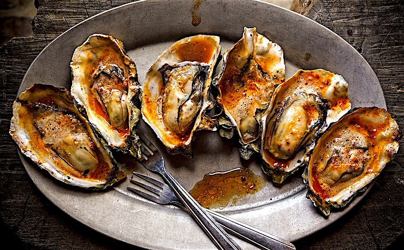 The Hirshon Tomales Bay Barbecued Oysters
