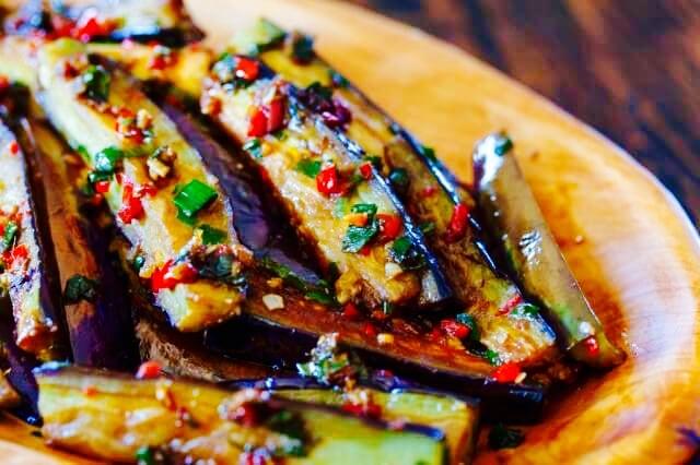 The Hirshon Sichuan 'Fish Fragrant Eggplant' - 鱼香茄子