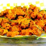 The Hirshon Bengali Shrimp Fritters – শ্রিম্প শামুক